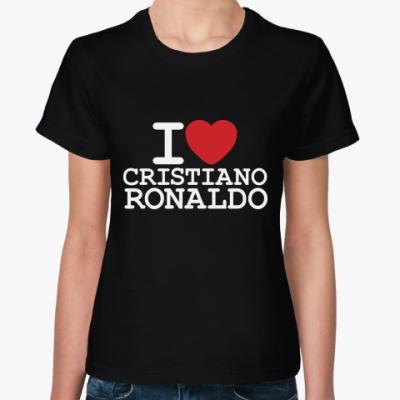 Женская футболка Криштиану Роналду