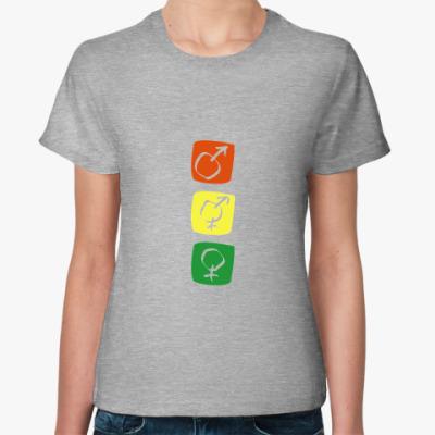 Женская футболка траффик
