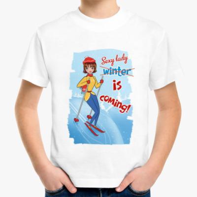 Детская футболка Sexy lady is coming!