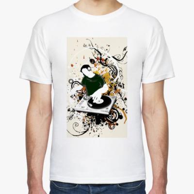 Футболка  футболка DJ