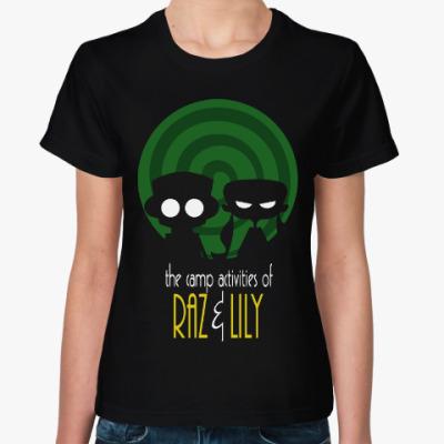Женская футболка Раз и Лили (Психонавты)