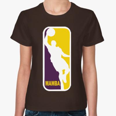 Женская футболка Black Mamba