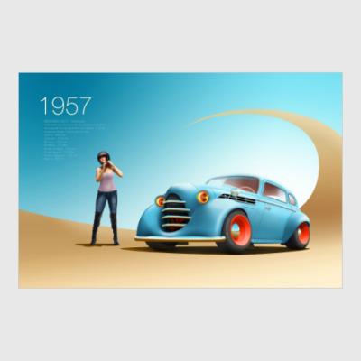 Постер Москвич 401
