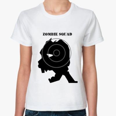 Классическая футболка zombie squad