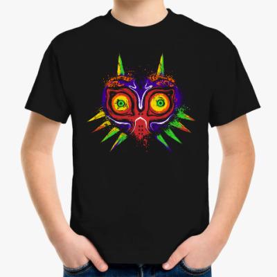 Детская футболка Маска Мононокэ