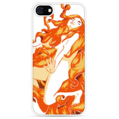 Чехол для iPhone Огненная ведьма