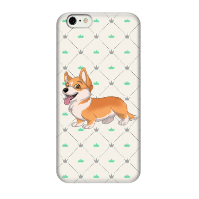 Чехол для iPhone 6/6s corgi love