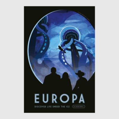 Постер Europa : discover life under the ice