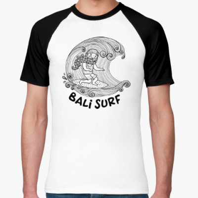 Футболка реглан Bali Surf