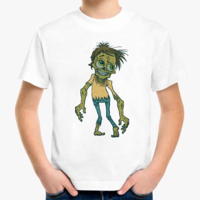 Детская футболка Зомби. Страшилка.