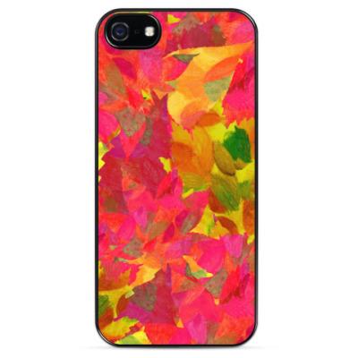Чехол для iPhone Осенние листья