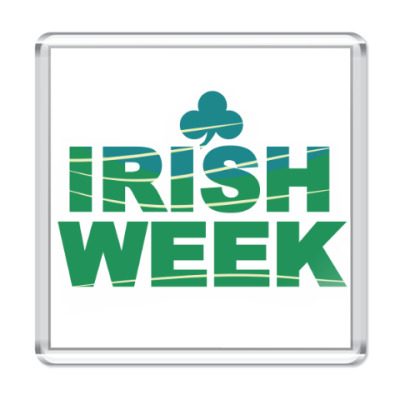 Магнит Irish Week