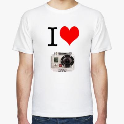 Футболка I Love GoPro