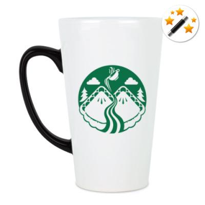 Кружка-хамелеон Twin Peaks coffee Starbucks