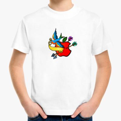 Детская футболка Детская футболка Apple flash