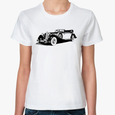 Классическая футболка  'HORCH'