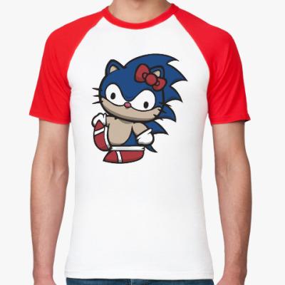 Футболка реглан Kitty Sonic