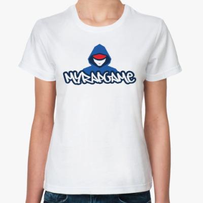 Классическая футболка Женская футболка Stedman (белая)