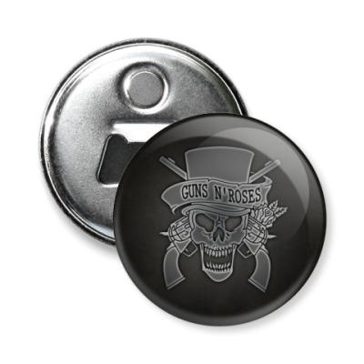 Магнит-открывашка Guns N' Roses