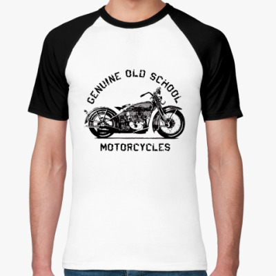 Футболка реглан Old School Motorcycles