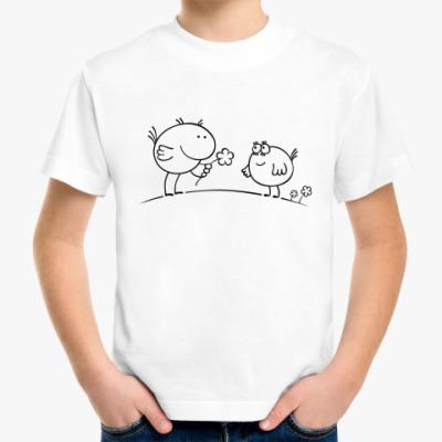Детская футболка 'Птички'