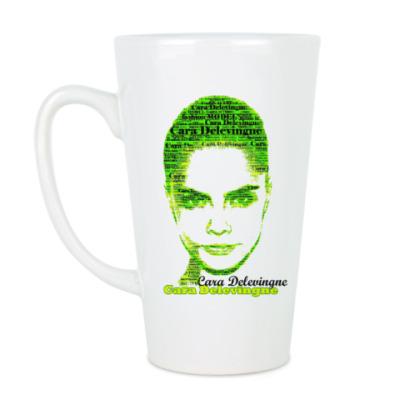 Чашка Латте Cara Delevingne/Кара Делевинь