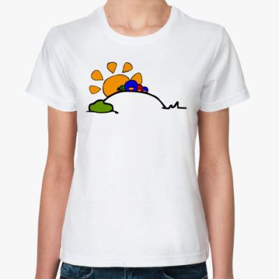 Классическая футболка Супергеройская футболка