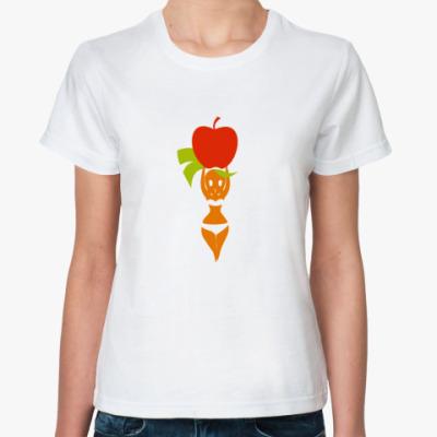Классическая футболка Морковка