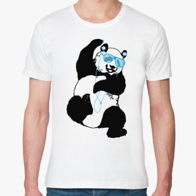 Футболка из органик-хлопка Панды пляшут!