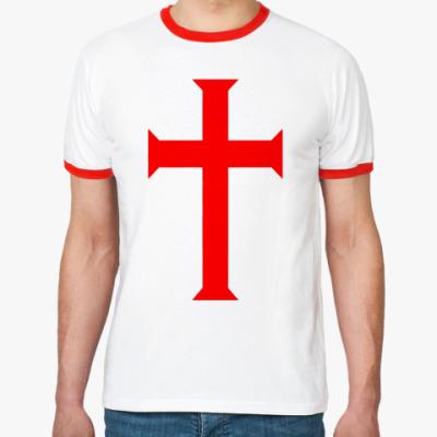Футболка Ringer-T Templar Сross