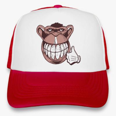 Кепка-тракер Веселая обезьяна