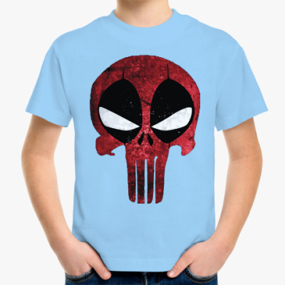 Детская футболка Дэдпул: Каратель / Deadpool