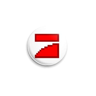 Значок 25мм  ICQ Статус #30