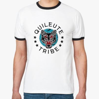Футболка Ringer-T Quileute tribe