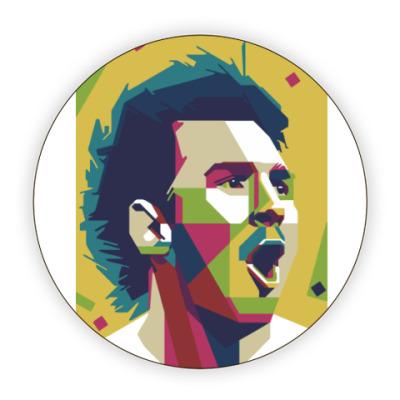 Костер (подставка под кружку) Color Messi