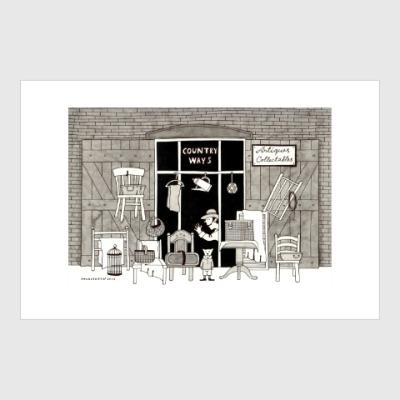 Постер Old shop
