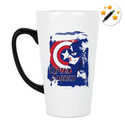 Кружка-хамелеон Капитан Америка