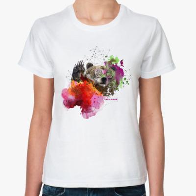 Классическая футболка BIG LOVE SHOW медведь
