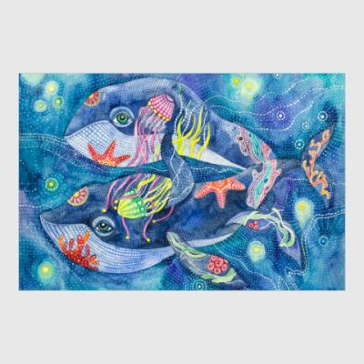 Постер Киты. Любовь как океан.