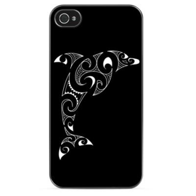 Чехол для iPhone Дельфин