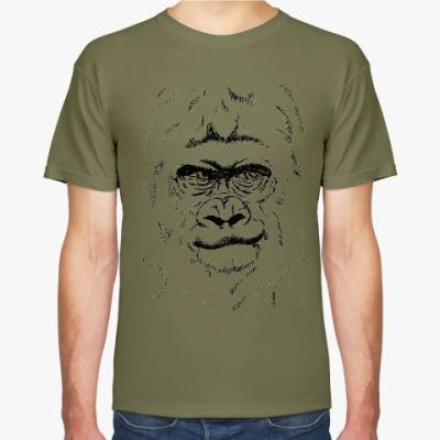 Футболка горилла
