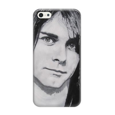 Чехол для iPhone 5/5s Kurt Cobain