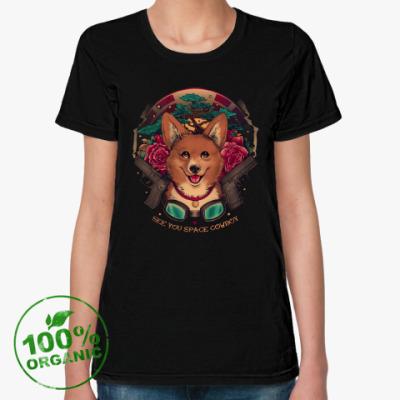 Женская футболка из органик-хлопка Cowboy Bebop