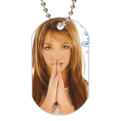 Жетон dog-tag britney spears