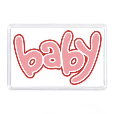 Магнит Baby