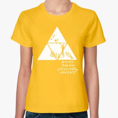 Женская футболка Приглашение инженеров