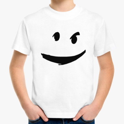 Детская футболка привидение