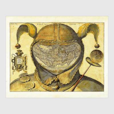 Постер The Fool's Cap Map