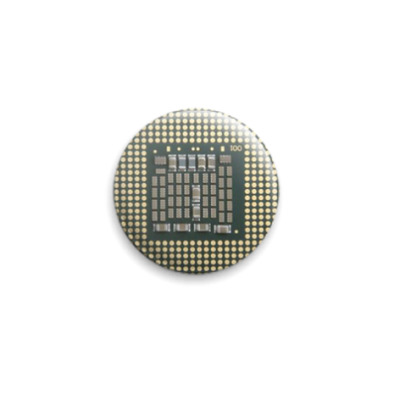 Значок 25мм  Процессор