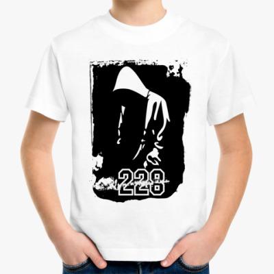 Детская футболка Рэпер 228
